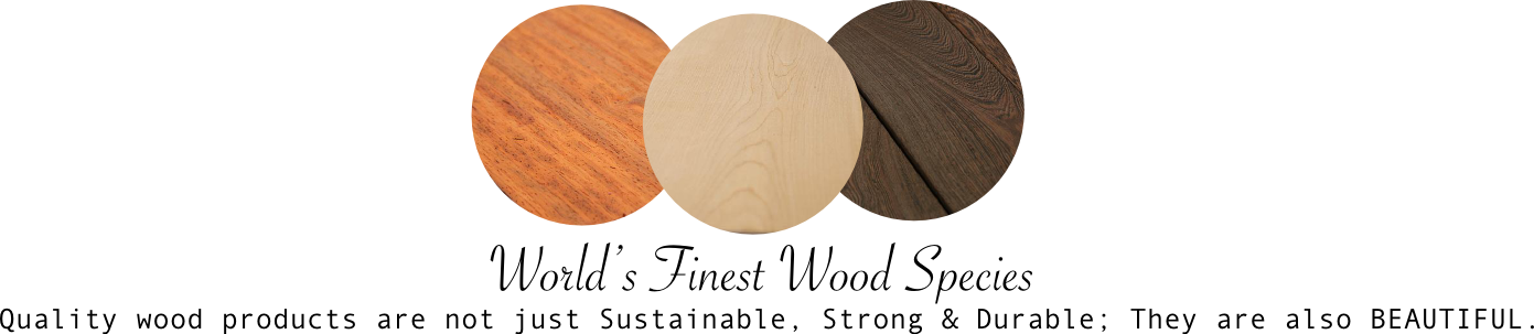 Know your Wood - Faith Lumber
