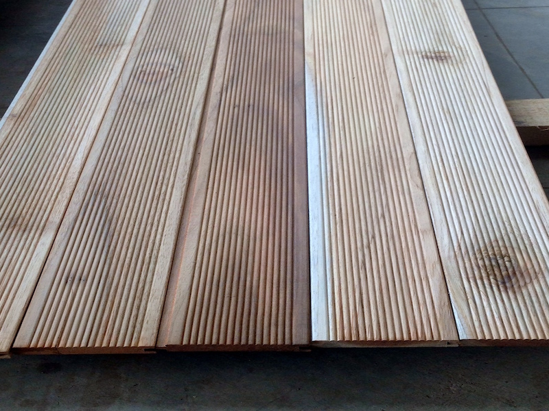 European Thermo Treated Hardwood Cladding  - Faith Lumber